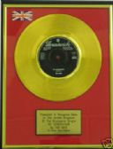 "THE WHO - 24 Carat Gold 7"" Disc - MY GENERATION"